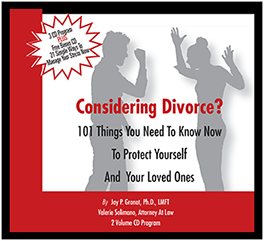 101 Divorce Tips CD Program